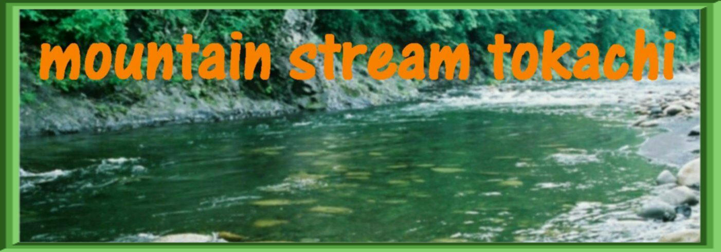Mountain Stream Tokachi